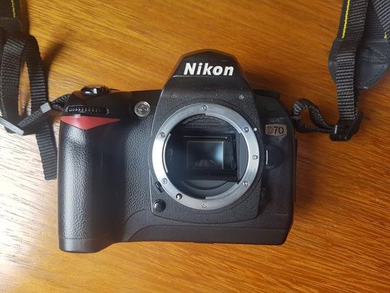 Nikon Slr D70 Perfeita!