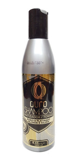 Shampoo Matizador Rubio Y Platinado Ouro 250 Ml 12 Pzas