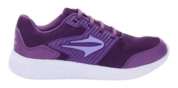Zapatillas Topper Routine Violetas De Mujer