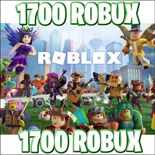 1700 Robux - Roblox @ Entrega Inmediata