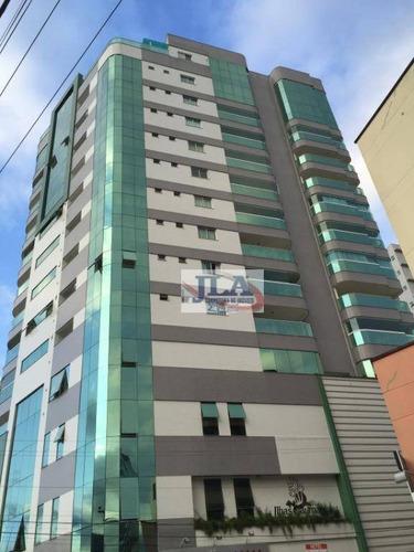 Imagem 1 de 30 de Cobertura Duplex Com 3 Suites À Venda, 331 M² Por R$ 2.000.000 - Centro - Itapema/sc - Co0007