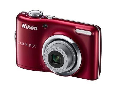 Câmera Digital Nikon Coolpix L23 C/ 10,1mp, Zoom Óptico 5x