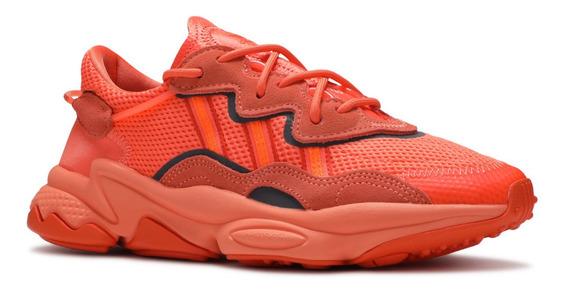 Tenis adidas Ozweego Bold Orange Laranja Casual Nmd Yeezy