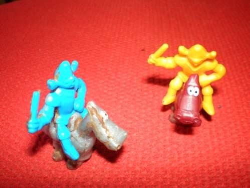 Lote Kinder Jack Soldadito Y Caballito Jinetes Plastico