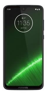 Celular Moto G7 Plus Azul Índigo 4gb 64gb Dual Android 9 Pie