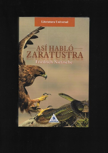 Así Hablaba Zaratustra - Friederich Nietzsche - Libro Nuevo