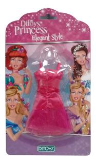 Ropa Fashion Para Muñecas Princesas Rosado (5605)
