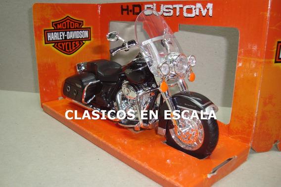 Harley Davidson Flhrc Road King 2013 - Moto Maisto 1/12