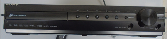 Dvd Receiver Sony Hcd-hdx589w 5 Dcs. Com Defeito