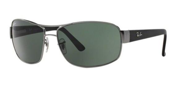 Oculos Sol Ray Ban Rb3503 029/71 66 Grafite Lente Verde G15