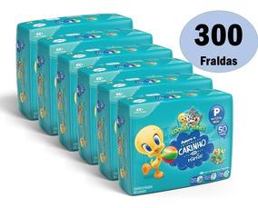 Kit Fraldas Baby Looney Tunes Atacado Barato P M G Xxg 6 Pct