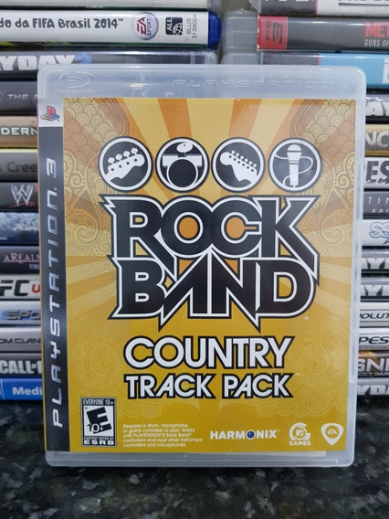 Rock Band Country Track Pack ***ps3 Original***