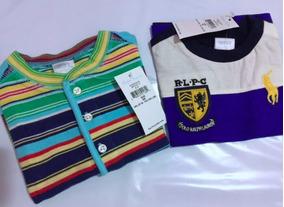 Promoção Lote Camiseta Polo Ralph Lauren Bebe Verão 6 Meses