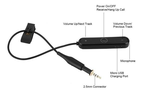 Cabo Para Fone K450 K451 K480 Q460 Virar Bluetooth 4.1