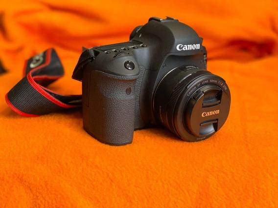 Câmera Canon 6d + Lente, Cartão, Mic, Case, Bateria Extra!!!