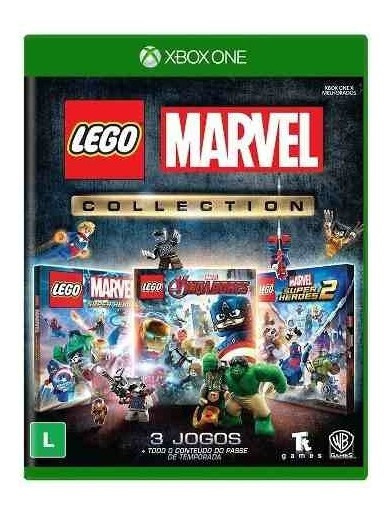 Lego Marvel Collection Xbox One Mídia Super Heroes Avengers