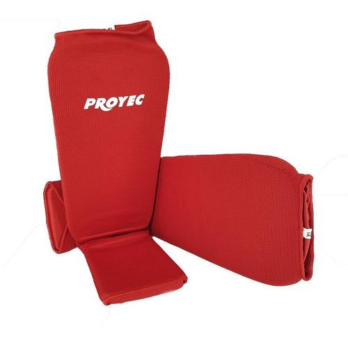 Tibiales Para Kick Boxing Proyec Elastizado Protector