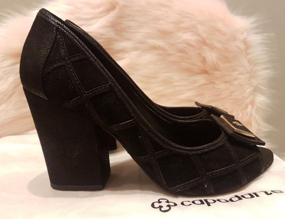 Sapato Scarpin Capodarte Preto