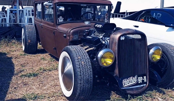 Hotrod 31 Lata - Chevy V8 350 - Dodge - Ford - Rathod