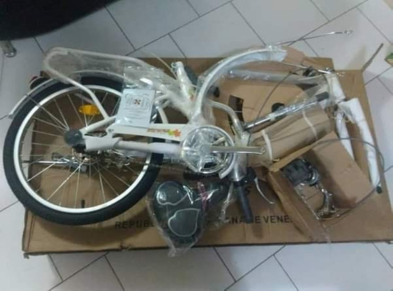 Bicicleta Rin 20 Pegable Nueva