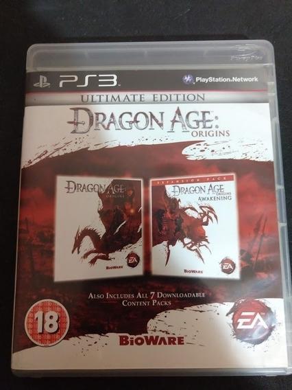 Dragon Age Origins Ultimate Edition Ps3 Midia Fisica Perfeit