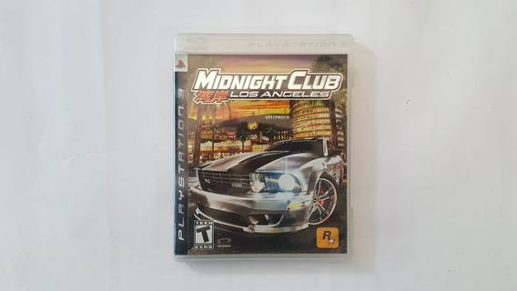 Midnight Club Los Angeles - Ps3 - Original