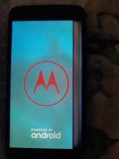 Motorola E4 Plus Funcionando (defeito Na Tela Imagem)