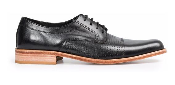 Tremendo Scarpe Zapato Hombre Vestir Sport Suela Cuero Negro