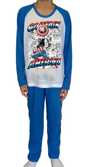 Kit 5 Pijama Masculino Infantil Longo