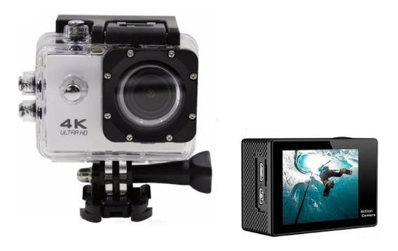 Câmera Sport 4k Action Gocam Wi-fi Capacete Moto Mergulho
