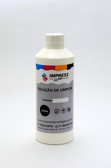 Solução De Limpeza P/ Cabeças De Impressão Plotter - 1 Litro