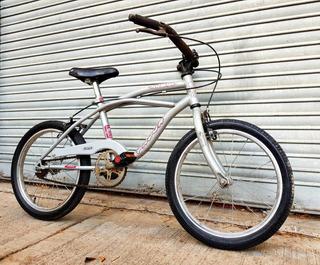 Bicicleta Niños Niñas Rodado 16 Gris Muy Buen Estado.