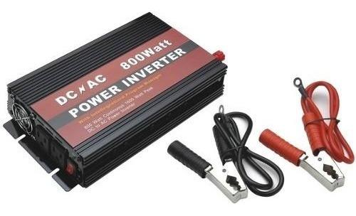 Inversor De Tensão 800w - 12v P/ 220v - 2 Plugs De Saída Usb