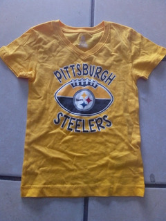 Playera Pittsburgh Steelers Nfl Team Apparel Juvenil S/ch