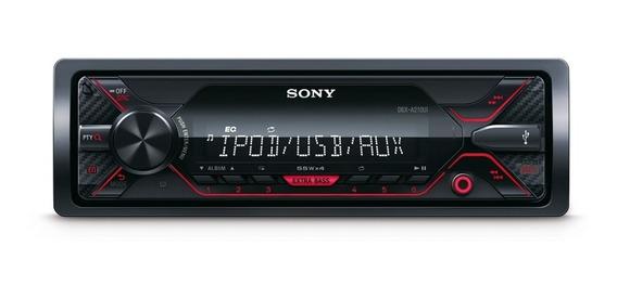 Stereo Sony Usb Aux Am/fm C/remoto Rca Frente Desmontable