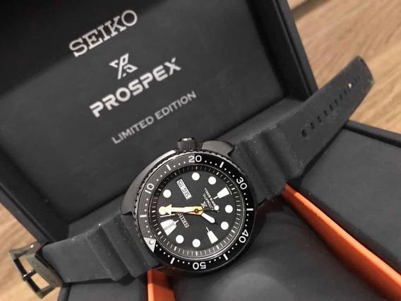 Seiko Ninja Prospex Turtle Automático Srpc49b1 Edição Limita