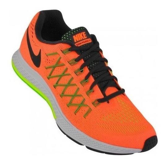 Tênis Masculino Nike Air Zoom Pegasus 32 Laranja 6737 Run