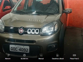Fiat Uno1.0 Evo Way 8v Flex 4p Manual 2014/2015