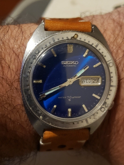 Seiko 6106 8100 - O Primeiro Seiko Sports Diver Vintage