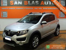Sba Anticipo! Renault Sandero Stepway 2016 Privilege 5p Gps