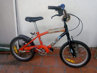 Bicicleta Rodado 14 Robinson Para Niñx
