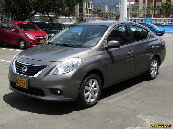 Nissan Versa Advance Mt 1600 2ab Abs