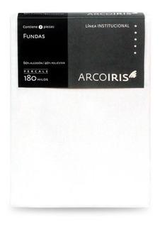 Pack X 2 Fundas De Almohada Arco Iris 52 X 100 Cm King Size
