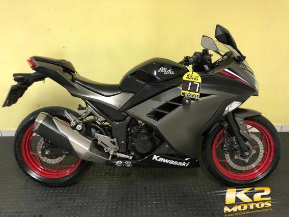 Kawasaki Ninja 300 (2016/2017) Edição Limitada C/ Freios Abs