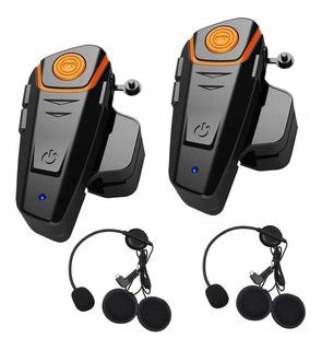 Intercomunicador/auricular Bluetooth/ Pack X2