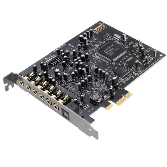 Placa De Som Pci-e Creative Sound Blaster Audigy Rx 7.1 - Sb1550