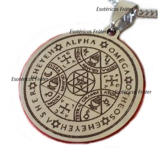 Pantáculo Chave De Salomão Tetragrammaton Hexagrama Goétia