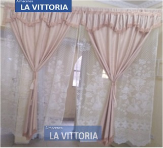 Imagen 1 de 4 de Cortina Elegante Para Sala Calidad Premium