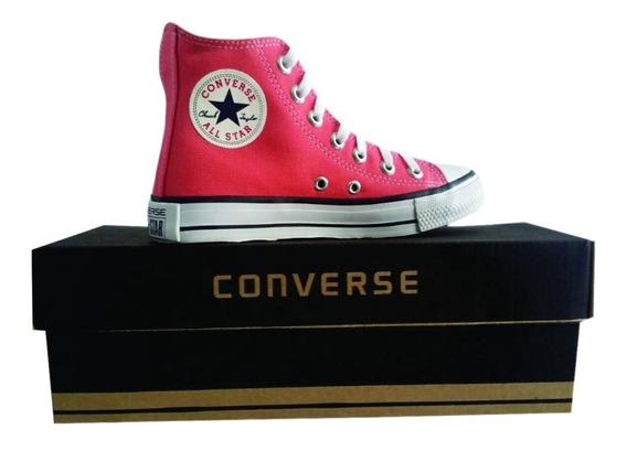 Tênis Converse All Star Chuck Taylor Cano Alto Salmon