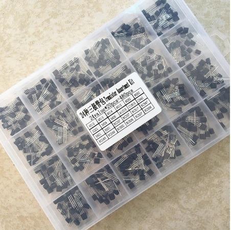 Transistor Lote Cada Bc327 Bc337 Bc517 Bc547 Bc548 B